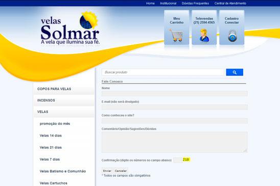 Velas Solmar