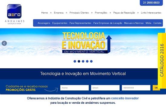A AeroAndaimes é uma Empresa que oferece à Indústria da Construção Civil e petrolífera um conceito inovador para locação e venda de andaimes elétricos.