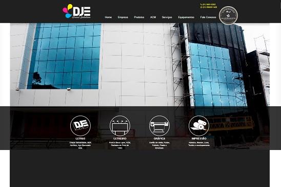A DJE print solution inspirada em seus prop?sitos de construir valores, desenvolve projetos dando vida e identidade visual, ela aplica energia da sua equipe e o seu entusiasmo vibrante para fazer sempre os seus clientes estarem de cara nova e um perfil arrojado.