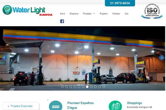 A empresa Kawoa é genuinamente nacional, fundada em março de 1988 no Rio de Janeiro. Em 1997 iniciou uma nova linha de produtos e reformulou toda a sua estrutura e então nasceu a linha WATER LIGHT, voltada para equipamentos eletrônicos de uso residencial, comercial e industrial. Possuímos uma grande gama de produtos para todos estes segmentos, tais como: iluminação com LEDs, iluminação subaquática, luminárias para postos de combustíveis e galpões, sensores de presença e diversos outros equipamentos.