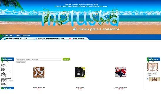 Loja Virtual de Roupas de Praia
